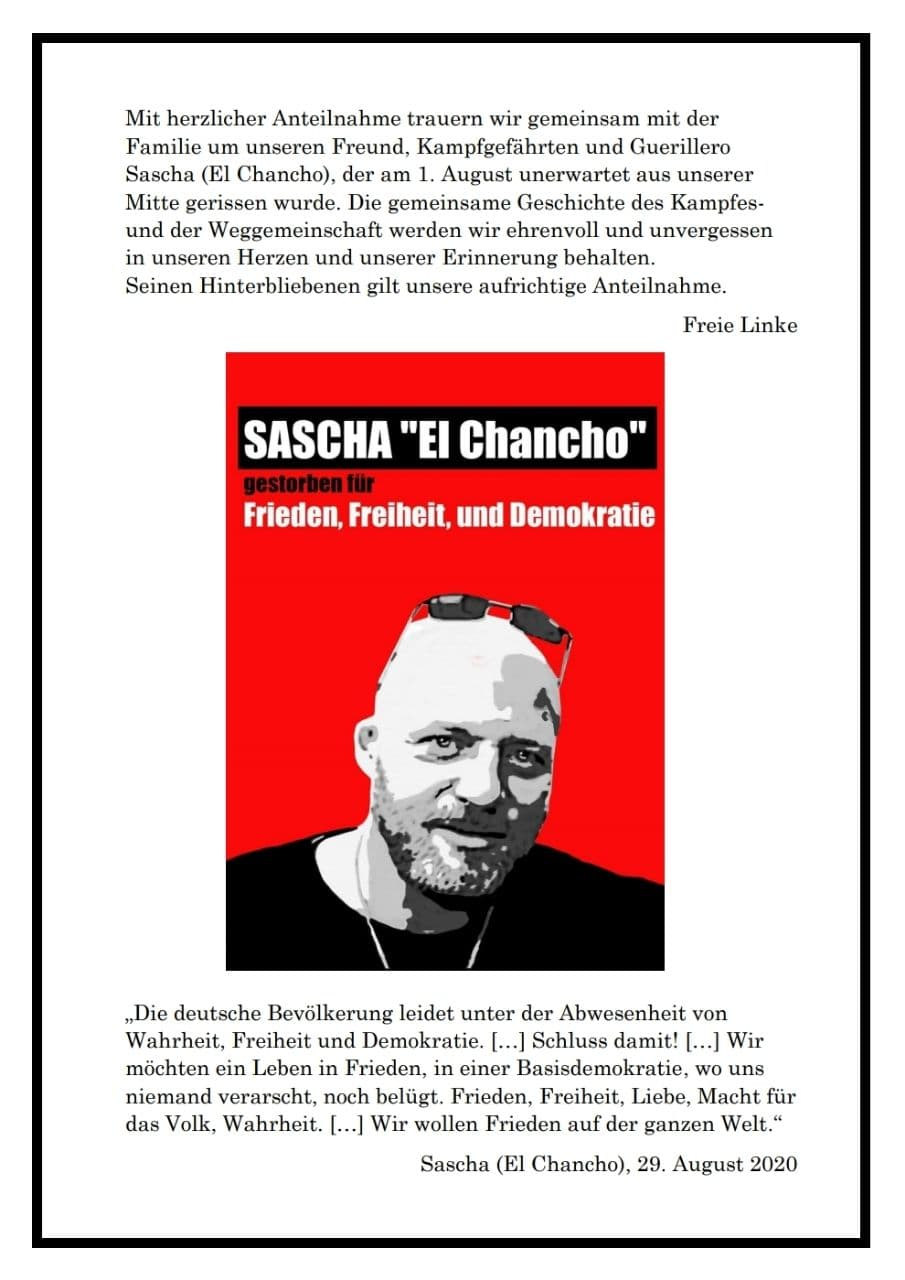Sascha Revolutionär der Liebe